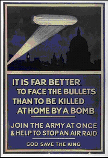 It is far better to face the bullets than be killed by a bomb at home